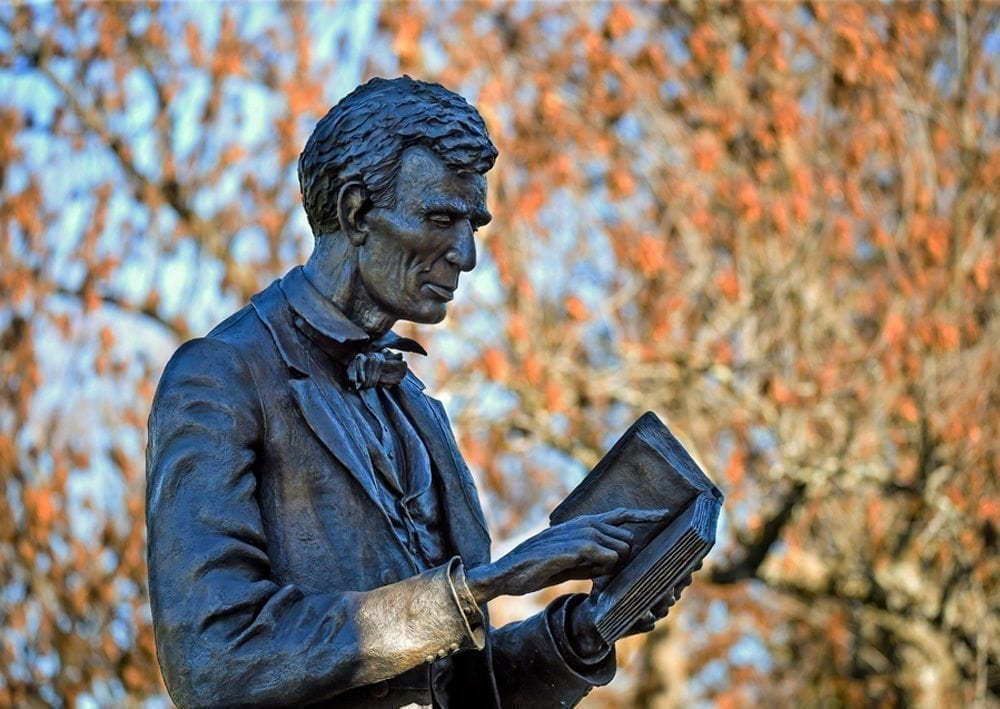 Lincoln Statue at Centre College